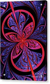 Bipolar Acrylic Print by John Edwards