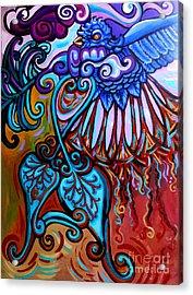 Bird Heart II Acrylic Print by Genevieve Esson