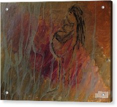 Birth Pains Acrylic Print by Lisa  Graham