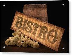 Bistro Still Life IIi Acrylic Print by Tom Mc Nemar