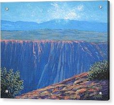 Black Canyon Of The Gunnison Acrylic Print by Gene Foust