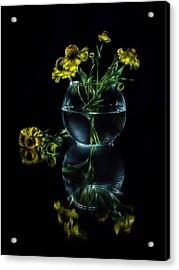 Black Mirror Acrylic Print by Alexey Kljatov