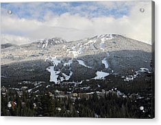 Blackcomb Mountain Acrylic Print by Pierre Leclerc Photography