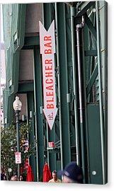 Bleacher Bar Acrylic Print by Greg DeBeck