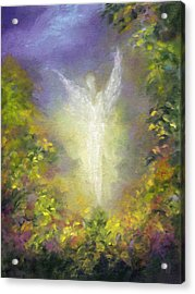 Blessing Angel Acrylic Print by Marina Petro