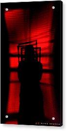 Blind Shadow Acrylic Print by Jonathan Ellis Keys