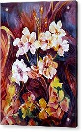 Bliss Acrylic Print by Carolyn LeGrand