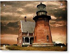 Block Island Southeast Light Acrylic Print by Lourry Legarde