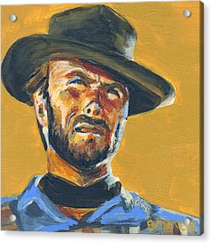 Blondie      The Good The Bad And The Ugly Acrylic Print by Buffalo Bonker