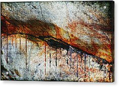 Blood From A Stone Acrylic Print by RC deWinter