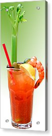 Bloody Mary Hand-crafted Acrylic Print by Christine Till