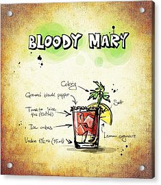 Bloody Mary Acrylic Print by Movie Poster Prints