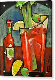 Bloody Mary Acrylic Print by Tim Nyberg