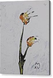 Bloom No. 8  Acrylic Print by Mark M  Mellon