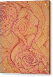 Blossom Acrylic Print by Caroline Czelatko