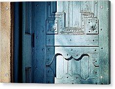 Blue Door Acrylic Print by Humboldt Street