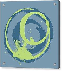 Blue Green 2 Acrylic Print by Julie Niemela