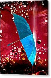 Blue Magic Acrylic Print by Marcia Lee Jones