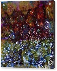 Blue Marmalade Acrylic Print by Don  Wright