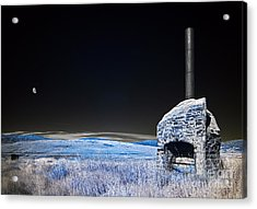 Blue Remembered Hills Acrylic Print by Russ Brown