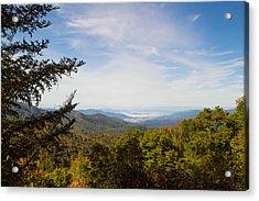 Blue Ridge Mountains - A Acrylic Print by James Fowler