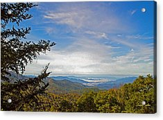 Blue Ridge Mountains - Ap Acrylic Print by James Fowler