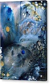 Blue Star Rising Acrylic Print by Lee Pantas