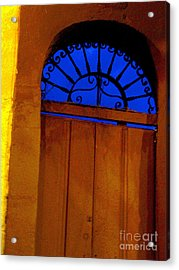 Blue Twilight By Michael Fitzpatrick Acrylic Print by Mexicolors Art Photography
