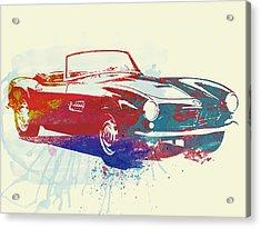 Bmw 507 Acrylic Print by Naxart Studio