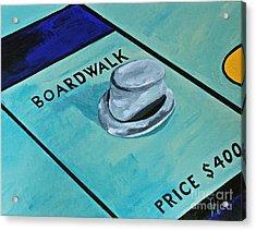 Boardwalk Acrylic Print by Herschel Fall
