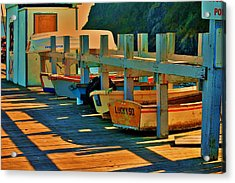 Boat Ride Acrylic Print by Helen Carson