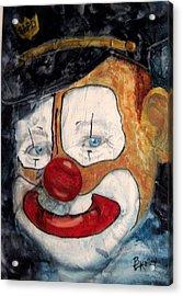 Bobo Cop Acrylic Print by Barbara Kelley