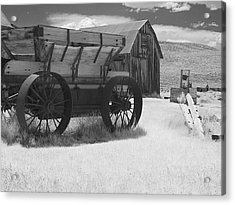 Bodie Ca - Praise The Lord And Pass The Ammunition Acrylic Print by Christine Till