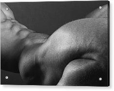 Bodyscape Acrylic Print by Thomas Mitchell