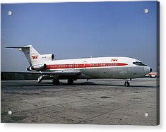 Boeing 727-031 Trans World Airlines Twa N856tw Acrylic Print by Wernher Krutein