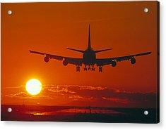 Boeing 747 Acrylic Print by David Nunuk