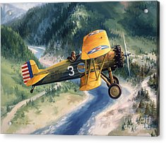 Boeing Country Acrylic Print by Randy Green