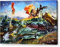 Bogomil Landscape Acrylic Print by Otto Rapp