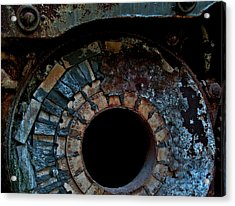 Boiler Acrylic Print by Murray Bloom