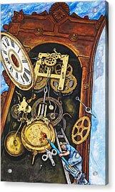 Boing Acrylic Print by Rich Travis