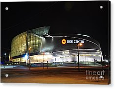 Bok Center Acrylic Print by Terry Anderson