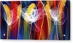 Bold Colors Modern Abstract Art Acrylic Print by Lourry Legarde