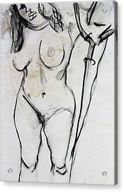 Bonnie Acrylic Print by Brad Wilson