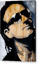 Bono Acrylic Print by Brad Jensen