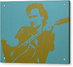 Bono Acrylic Print by Doran Connell