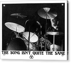 Bonzo Acrylic Print by Lyle Brown