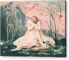 Book Of Thel Acrylic Print by William Blake