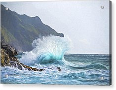 Booming Swell II Acrylic Print by Jon Glaser