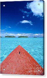 Bora Bora, View Acrylic Print by William Waterfall - Printscapes