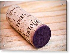 Bordeaux Wine Acrylic Print by Frank Tschakert